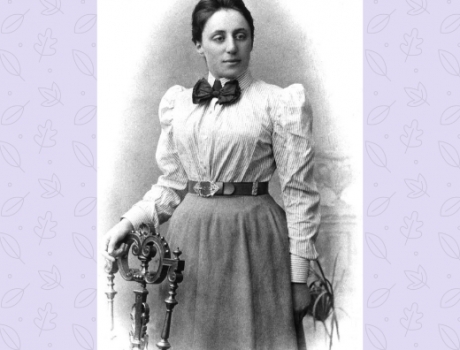 Emmy Noether, mathematical wonder woman in a man's world